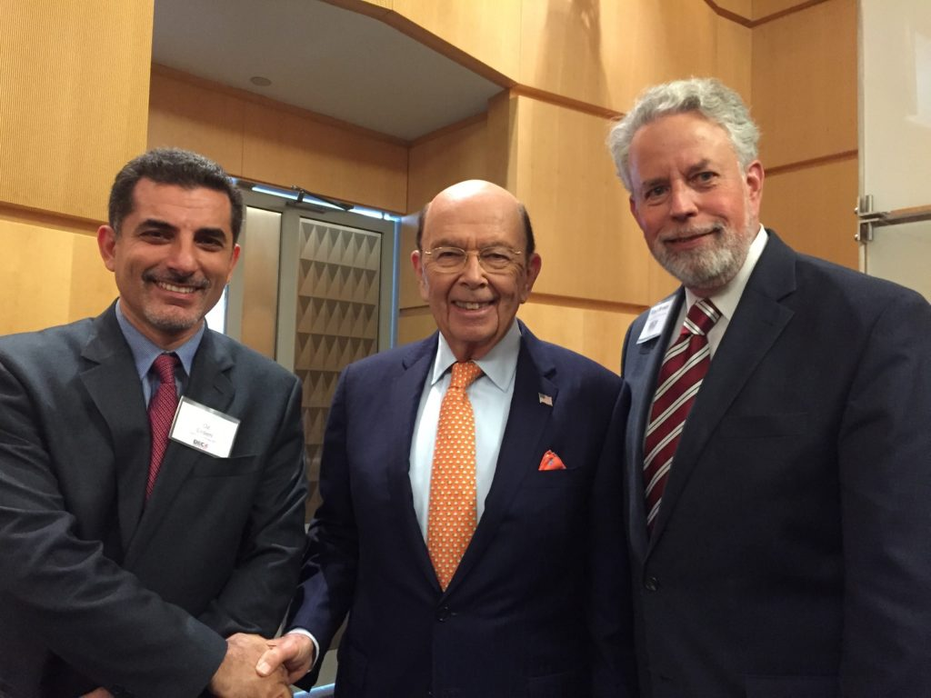 Secretary Wilbur Ross and NADEC leadership